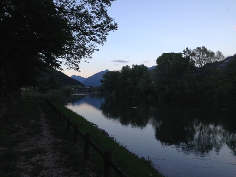View of Lago d'Irdo