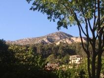 Mountain backdrop