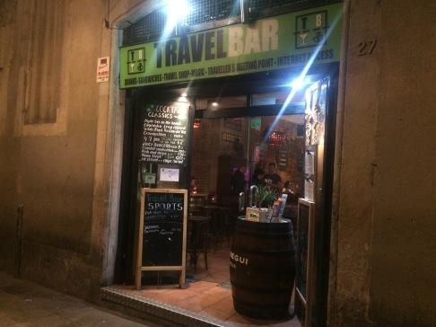 The Travel Bar - Barcelona