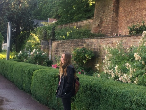 Gardens behind Saarbrücken Castle